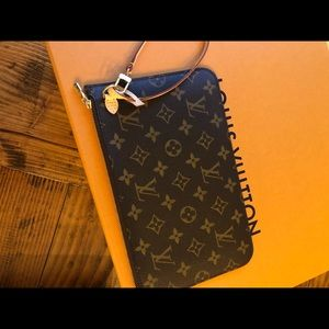 New, never used neverfull monogram pochette large